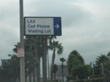 Cellphone Lot Sign