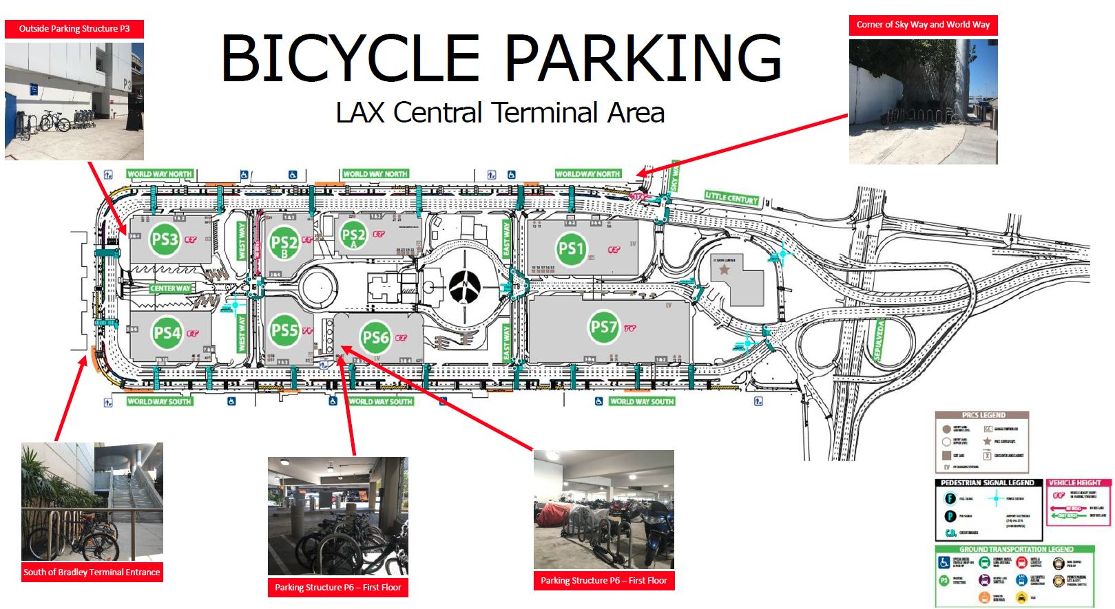Bike Parking Map